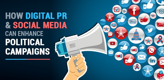 How Digital PR and Social Media can enhance Political Campaigns